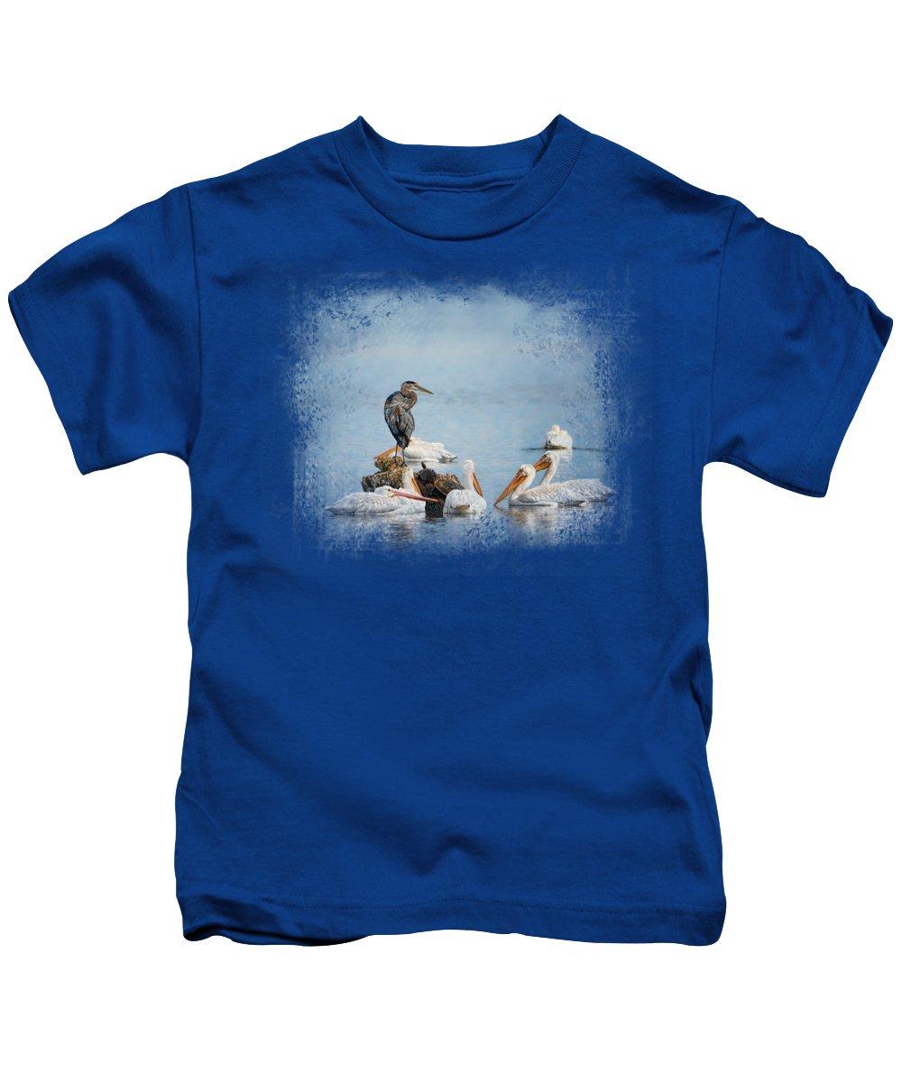 Heron Kids T-Shirts