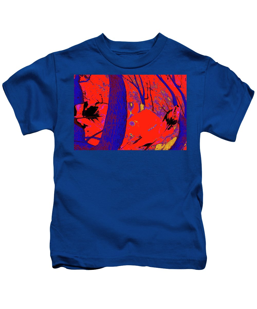 Nature Kids T-Shirt featuring the photograph Surrounded 6 by Gary Bartoloni