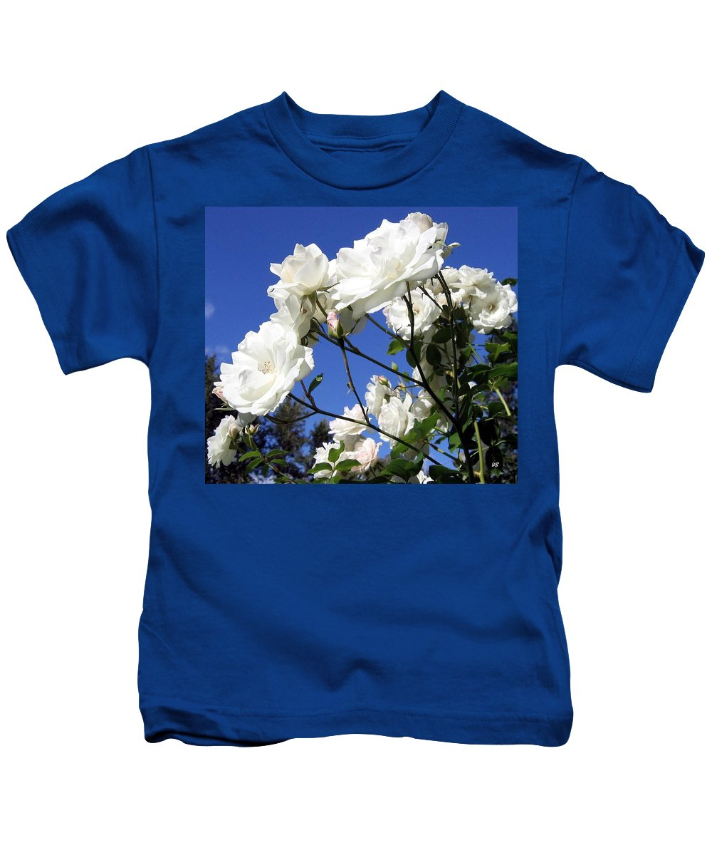 Roses Kids T-Shirt featuring the photograph The Iceberg Rose by Will Borden