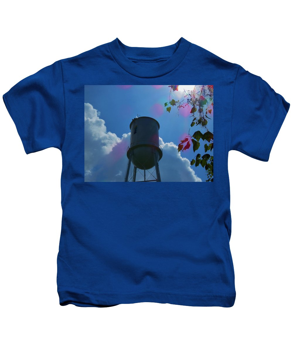 Kids T-Shirt featuring the photograph Tower by Mario Carta