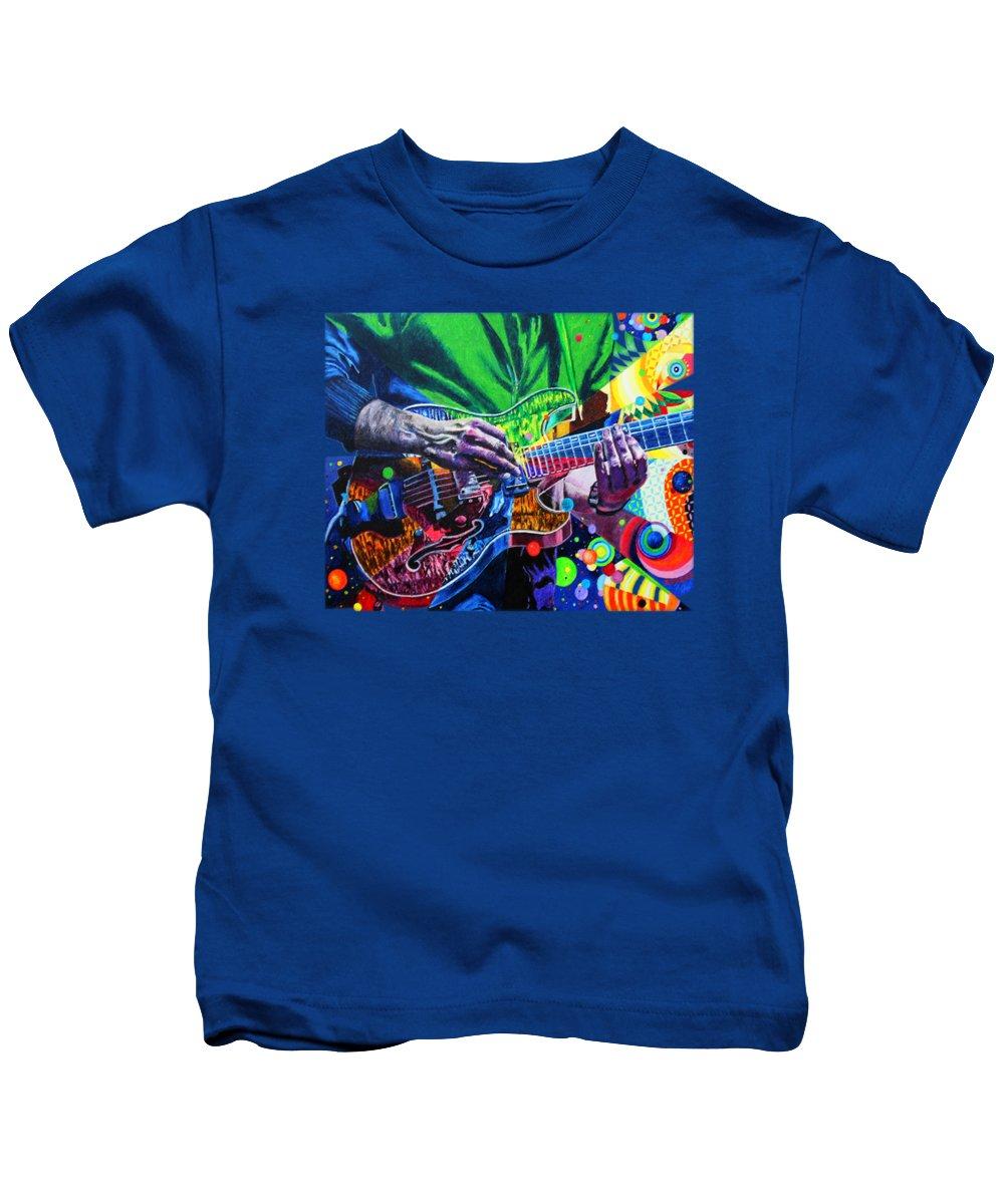 Live Music Paintings Kids T-Shirts