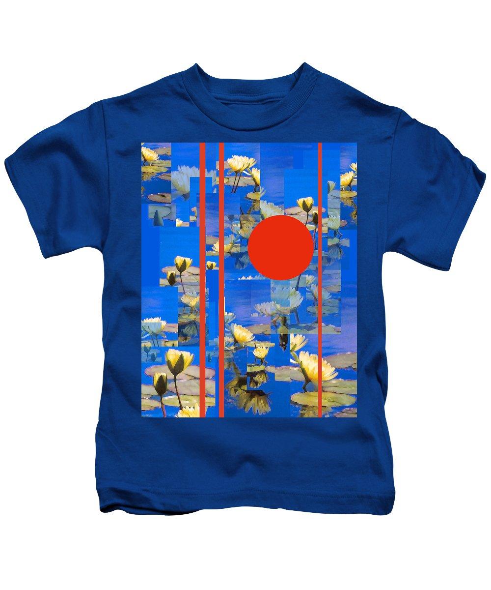 Flowers Kids T-Shirt featuring the photograph Vertical Horizon by Steve Karol