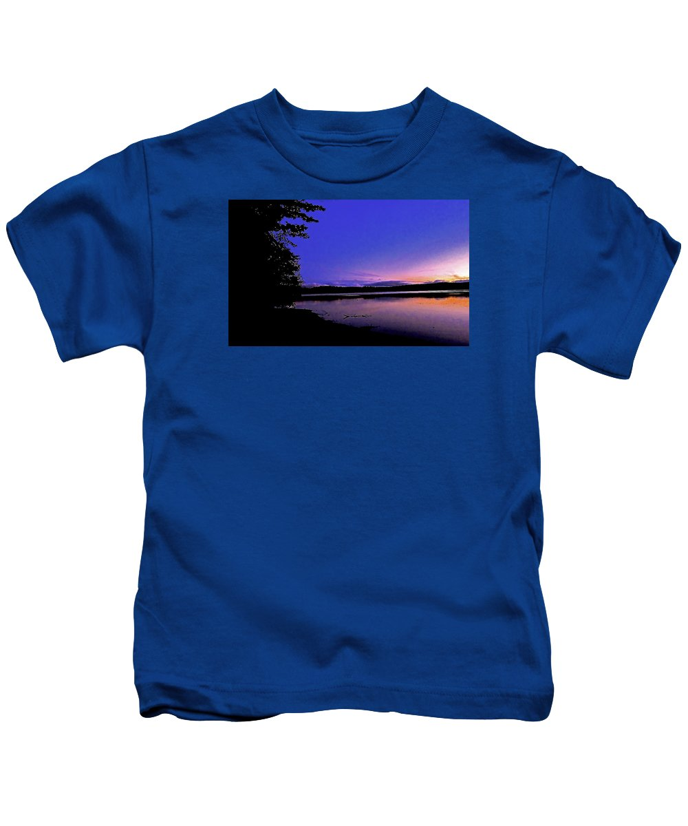 Kids T-Shirt featuring the photograph Waiting At The Edge Of Paradise by Elizabeth Tillar
