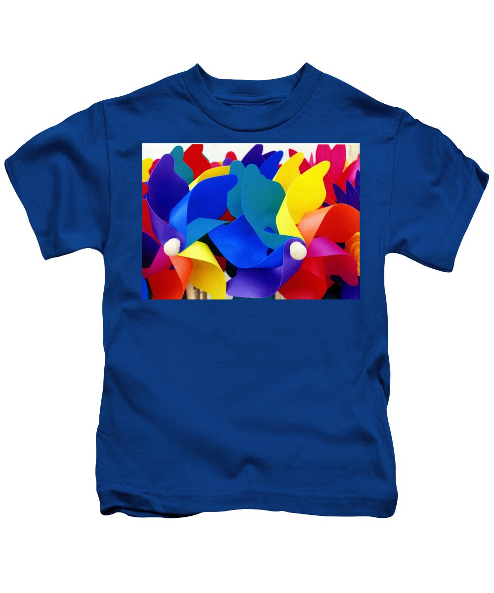 Toy Kids T-Shirt featuring the photograph What Goes Around by Wayne Potrafka