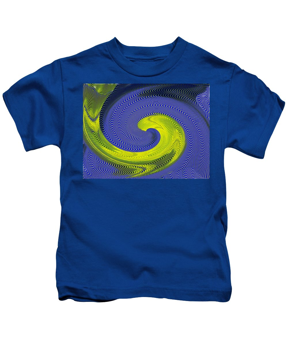 Whirlpool Kids T-Shirt featuring the photograph Whirlpool 4 by Tim Allen