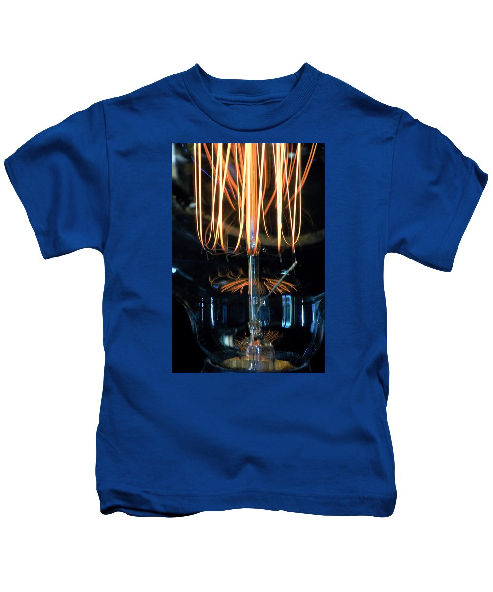 Light Kids T-Shirt featuring the photograph Zapped by Marnie Patchett