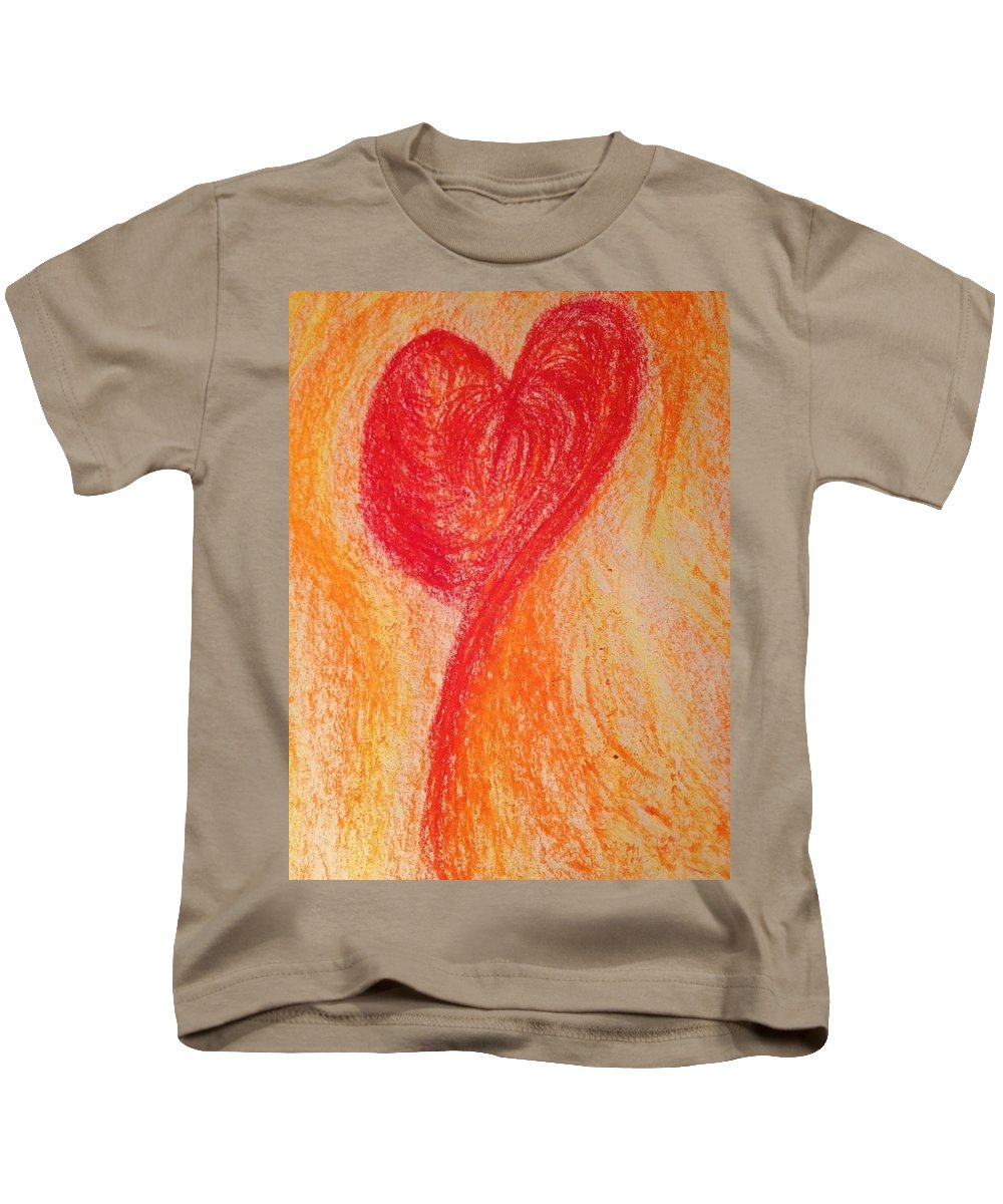 Heart Kids T-Shirt featuring the photograph Art Therapy 152 by Michele Monk