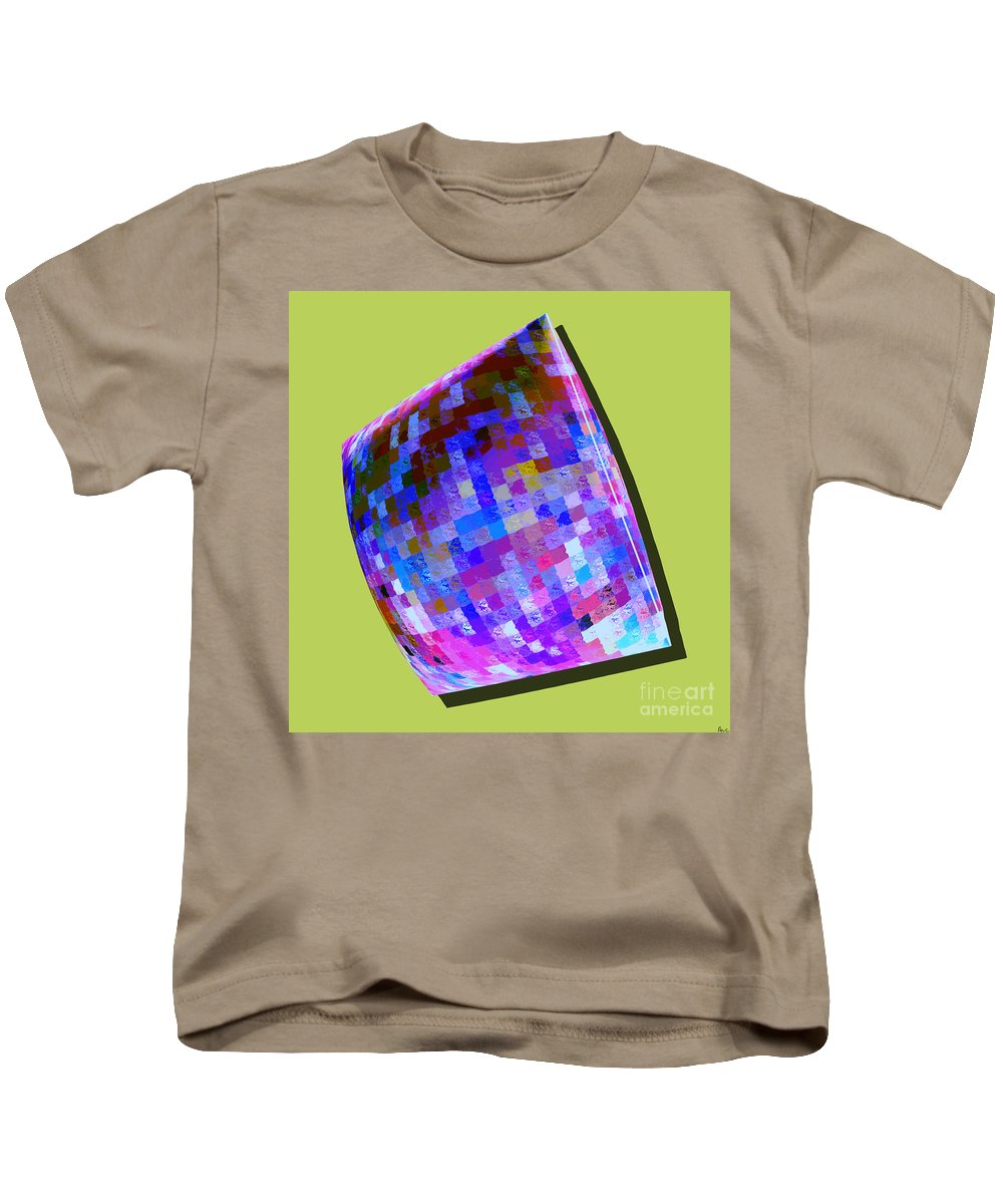 Abstract Kids T-Shirt featuring the digital art 1273 Abstract Thought by Chowdary V Arikatla