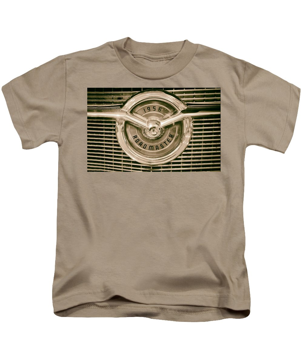 America Kids T-Shirt featuring the photograph 1956 Roadmaster by Russ Dixon