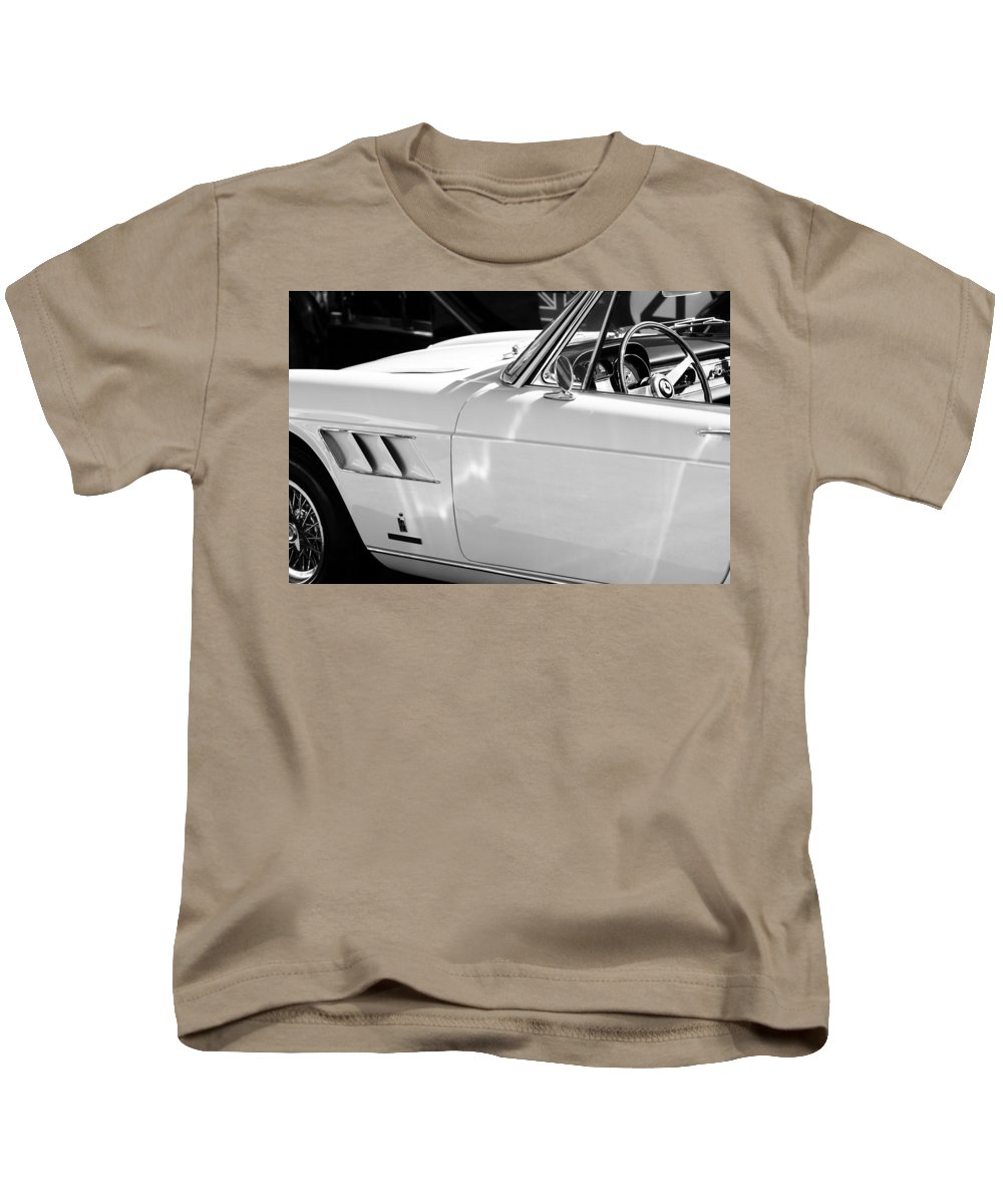 1965 Ferrari 275gts Kids T-Shirt featuring the photograph 1965 Ferrari 275gts by Jill Reger