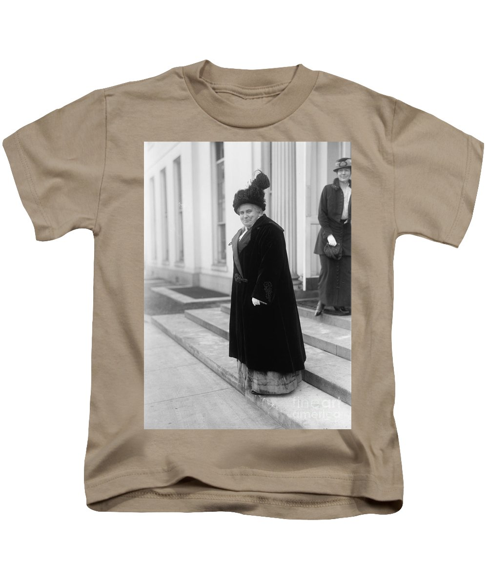1914 Kids T-Shirt featuring the photograph Anna Howard Shaw by Granger