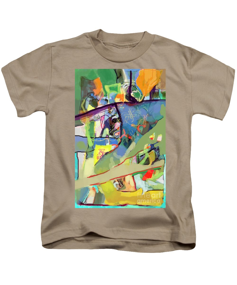 Torah Kids T-Shirt featuring the digital art Self-renewal 15v by David Baruch Wolk