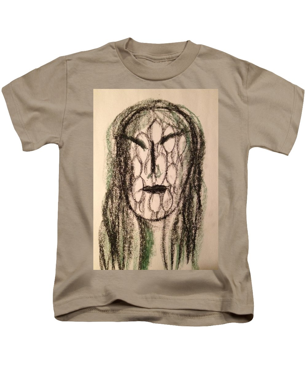 Woman Kids T-Shirt featuring the photograph Art Therapy 162 by Michele Monk