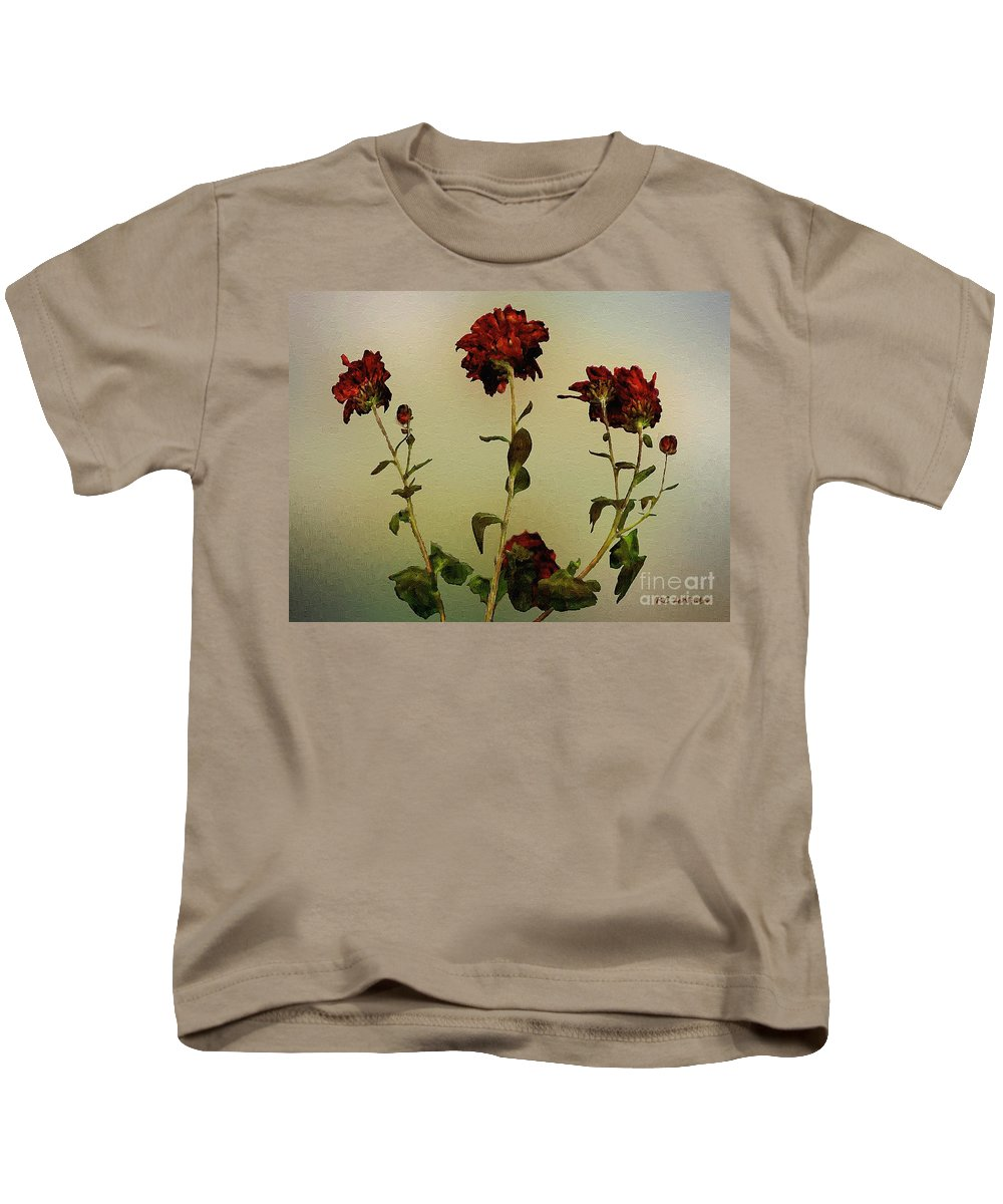 Autumn Kids T-Shirt featuring the painting Autumn Fresco by RC DeWinter