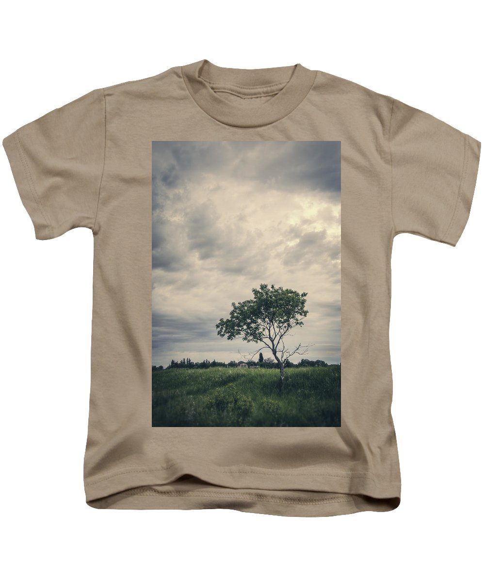 Manitoba Kids T-Shirt featuring the photograph Baby We All Have Dreams by Sandra Parlow