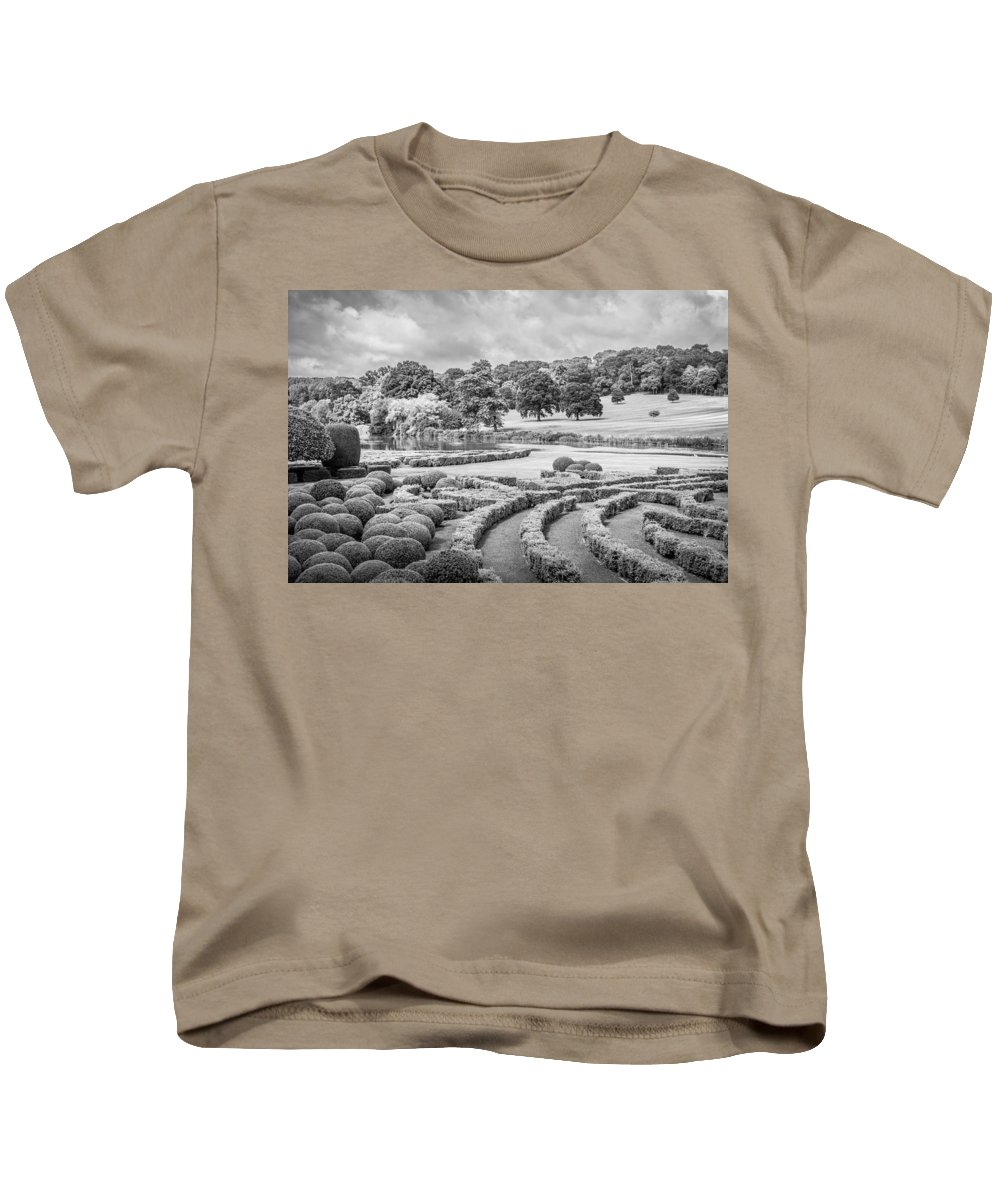Topiary Kids T-Shirt featuring the photograph Bleak Topiary by Mair Hunt