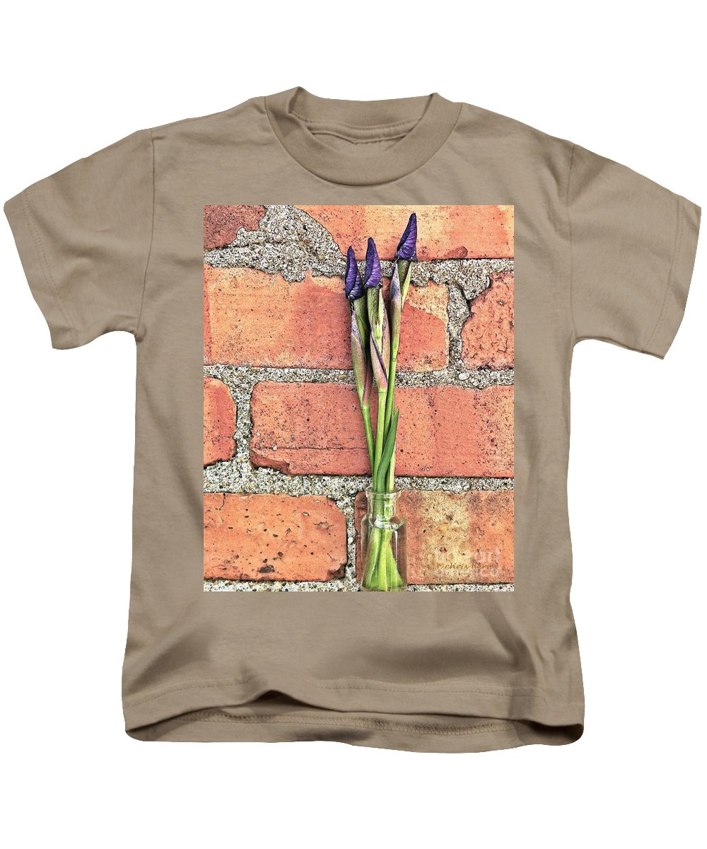 Nature Kids T-Shirt featuring the photograph Blooms For Tomorrow by Chris Berry
