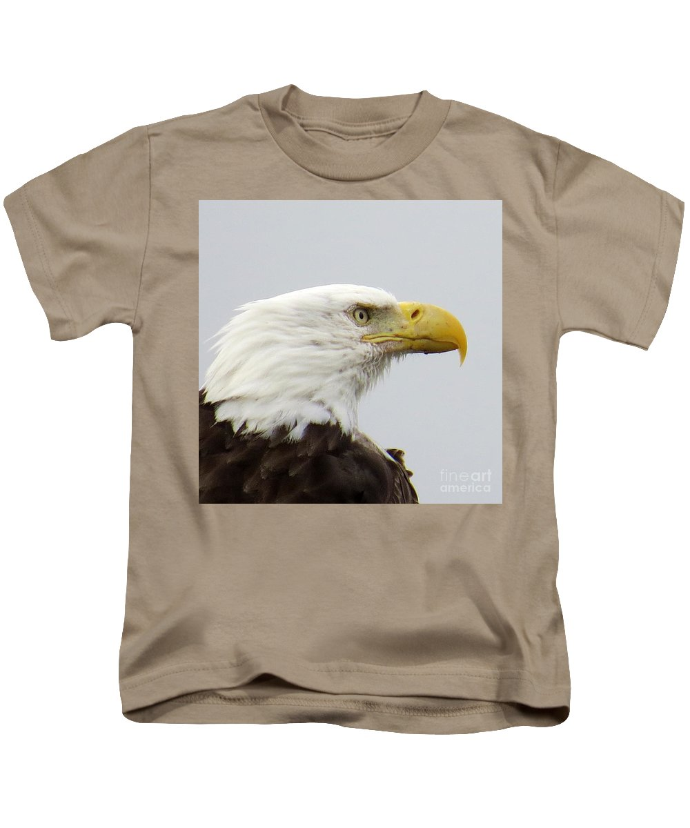 Bald Eagle Kids T-Shirt featuring the photograph Bald Eagle by Stacey May