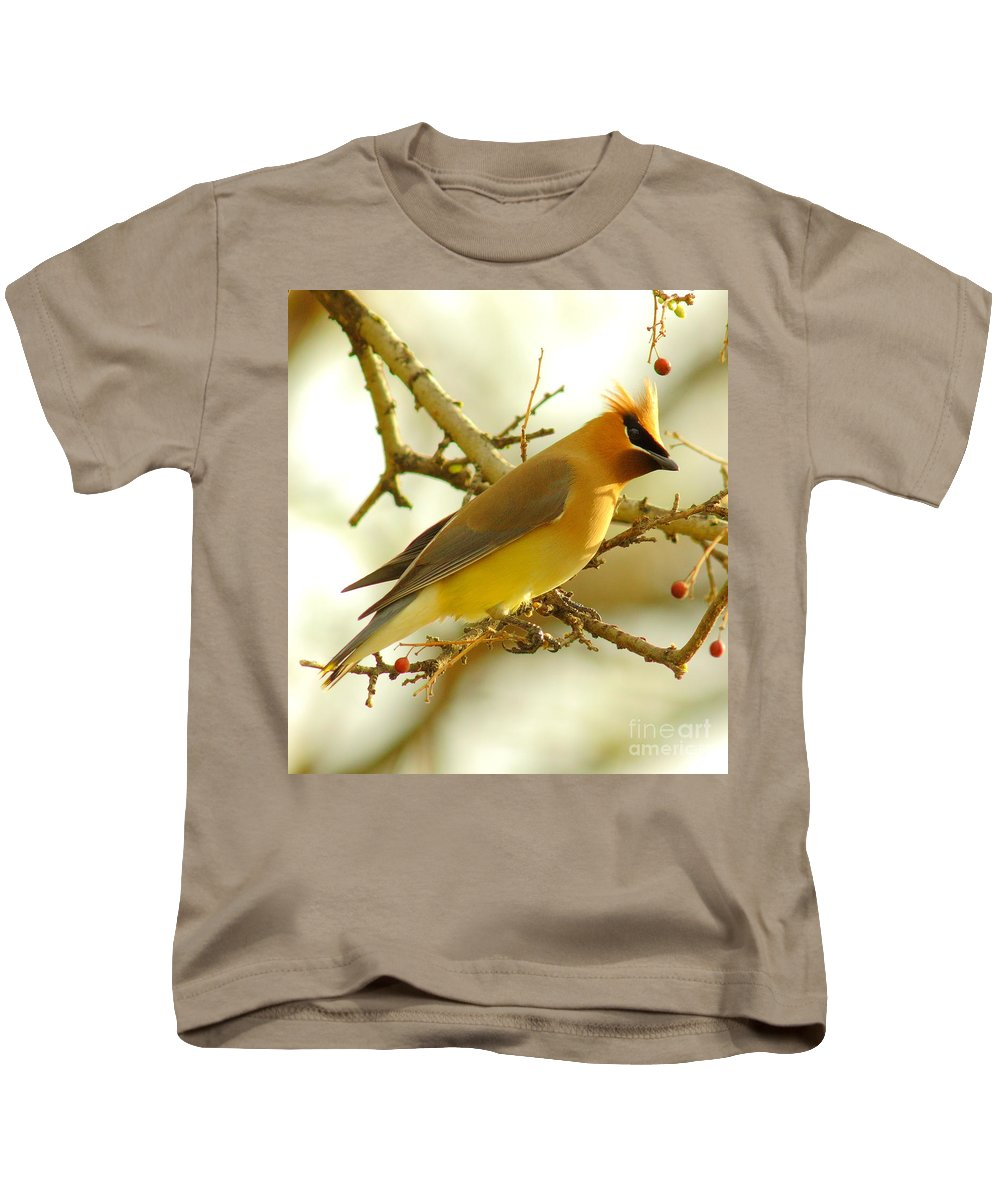 Cedar Waxing Kids T-Shirts