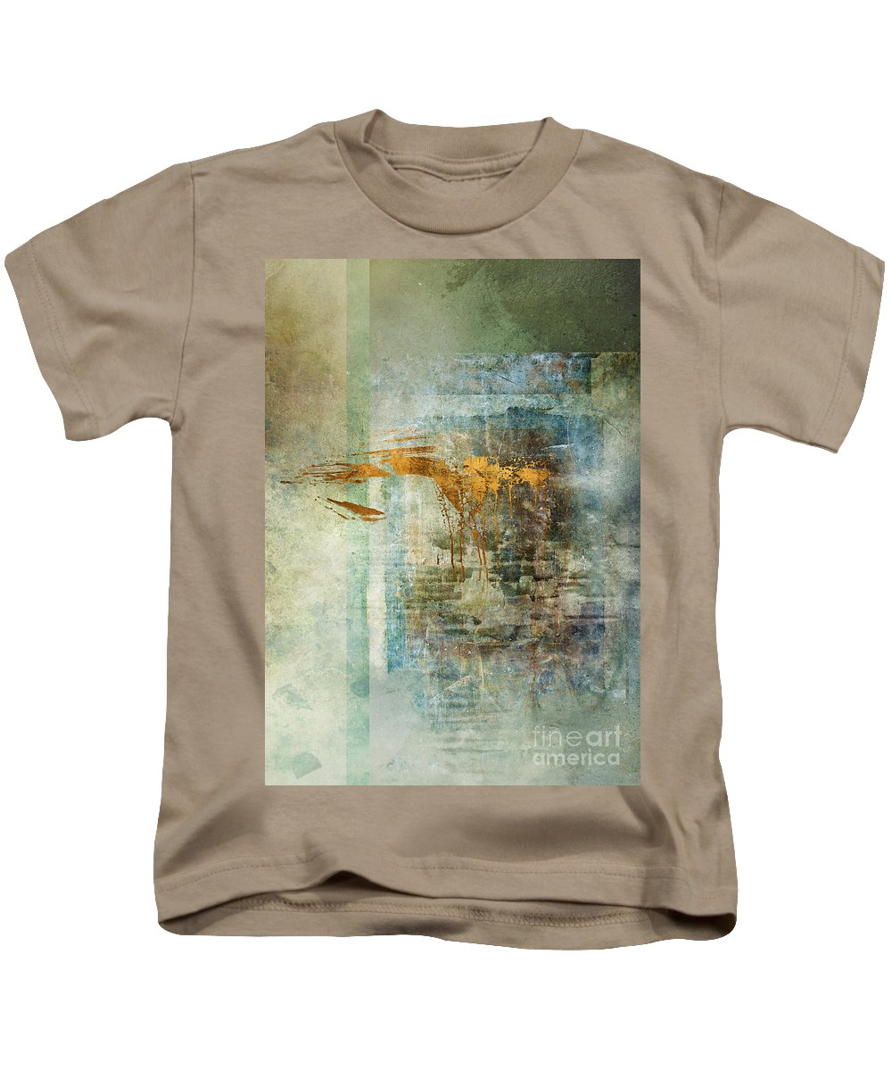 Abstract Kids T-Shirt featuring the digital art Chamber by Aimee Stewart