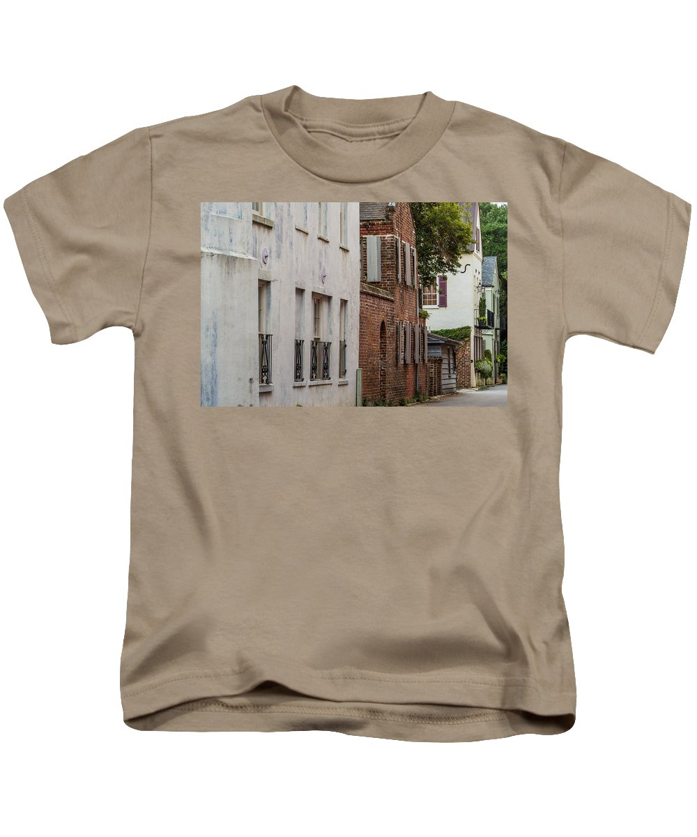 Charleston Kids T-Shirt featuring the photograph Charleston 2 by Ken Kobe