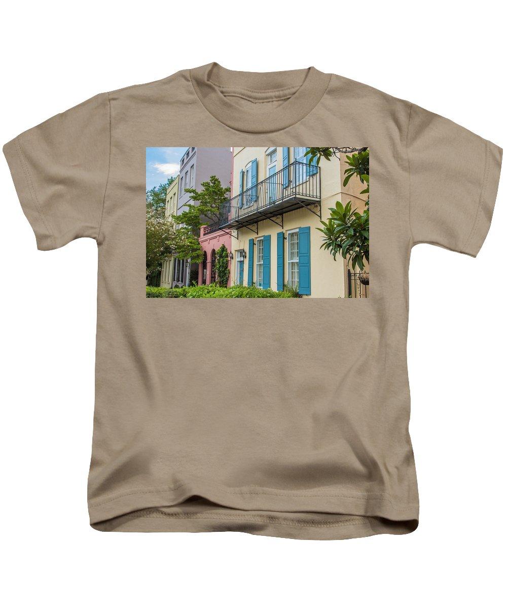 Charleston Kids T-Shirt featuring the photograph Charleston 6 by Ken Kobe