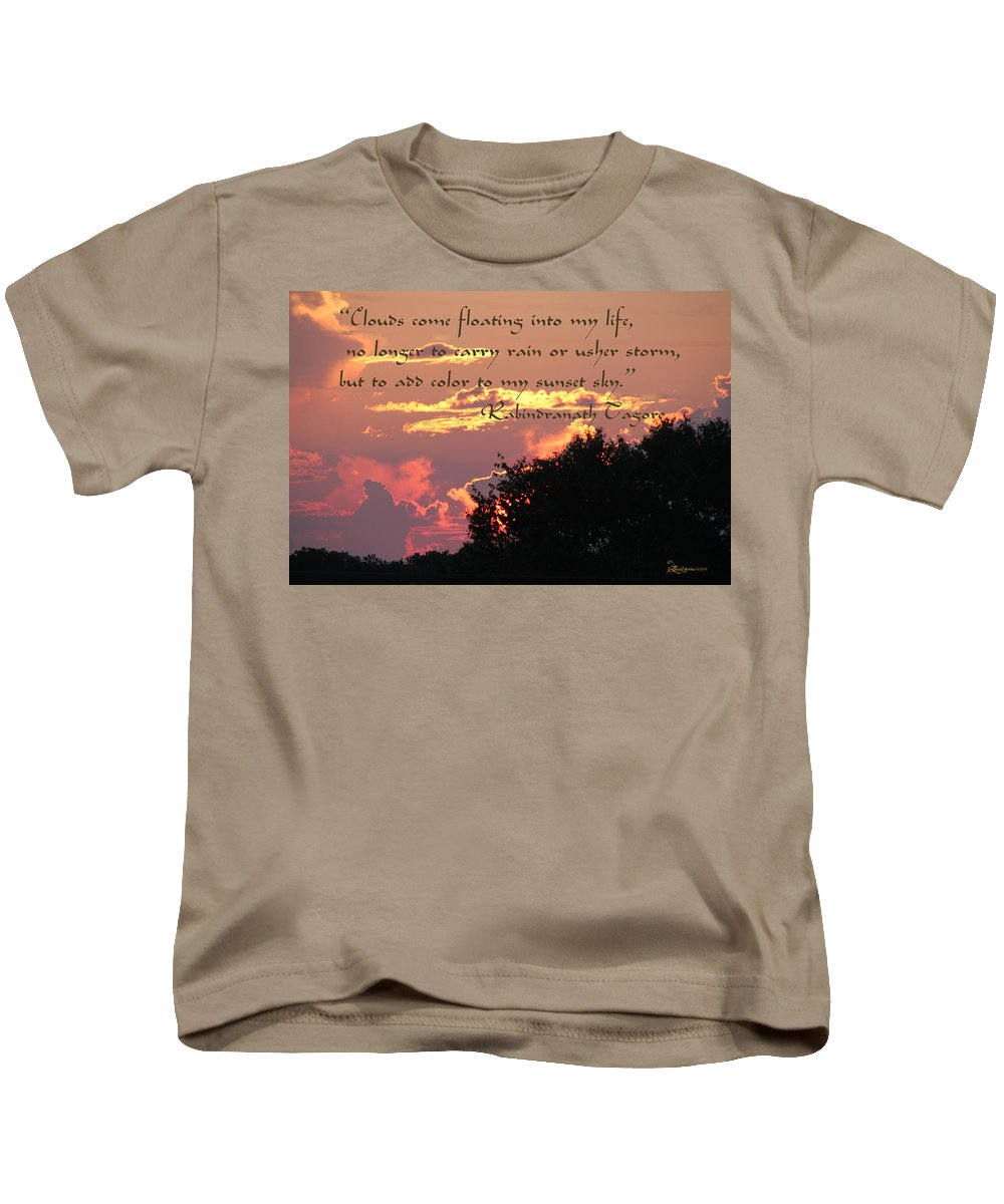 Clouds Kids T-Shirt featuring the photograph Clouds - Featured In Beauty Captured Group by Ericamaxine Price