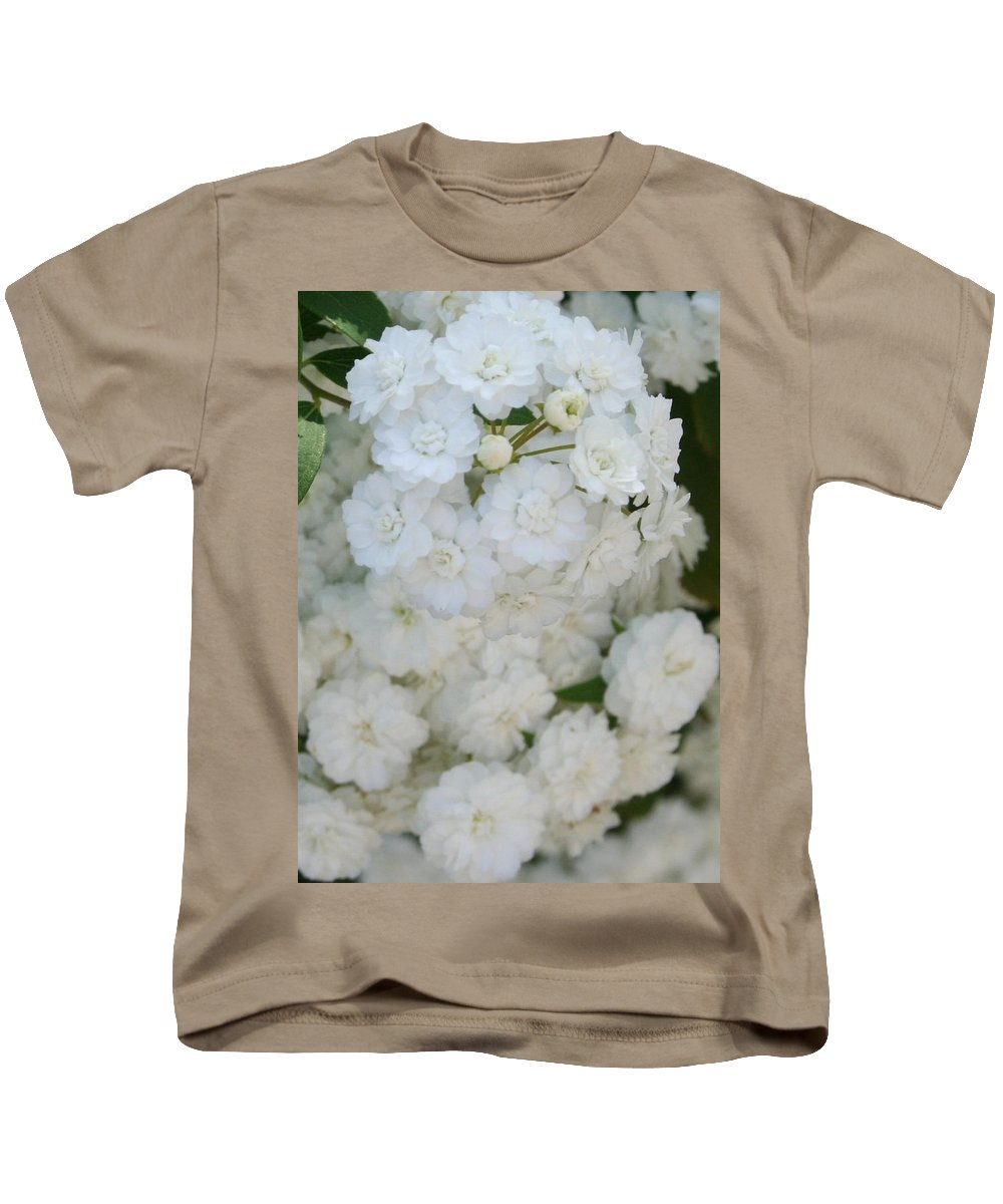 Shrub Kids T-Shirt featuring the photograph Deutzia Pure And Simple by Taiche Acrylic Art