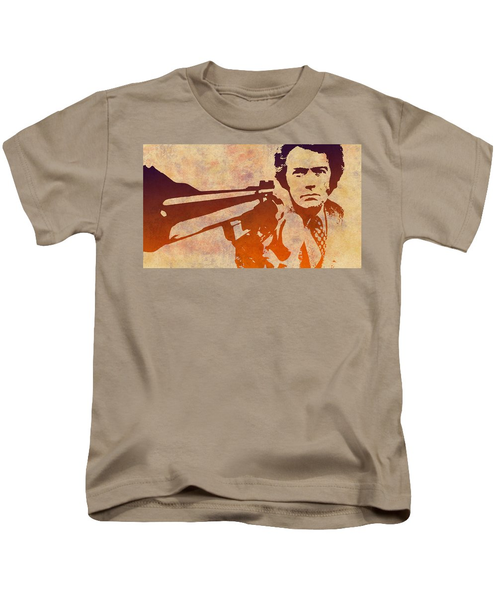 Dirty Harry Kids T-Shirt featuring the photograph Dirty Harry - 2 by Chris Smith