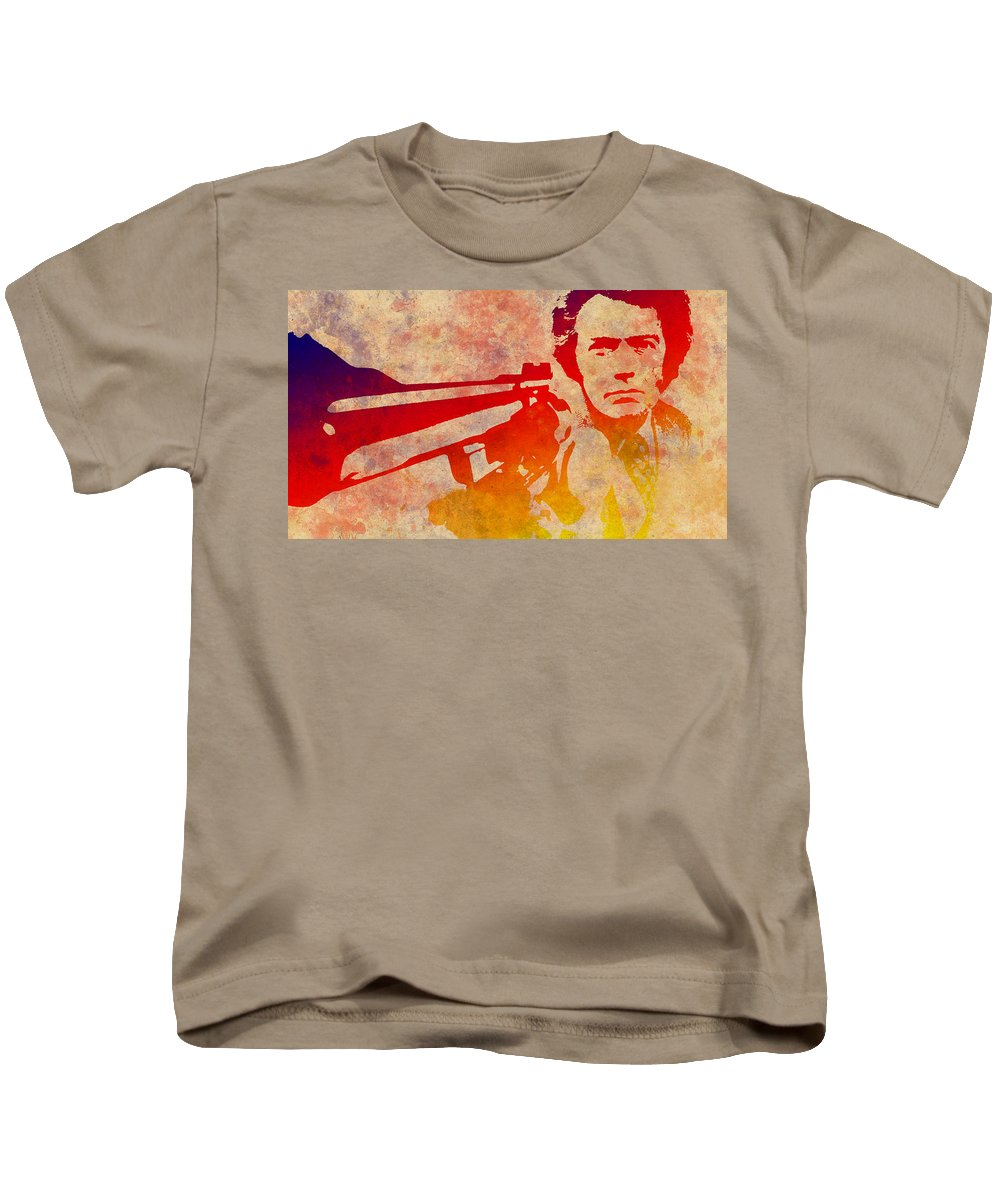 Dirty Harry Kids T-Shirt featuring the photograph Dirty Harry - 4 by Chris Smith