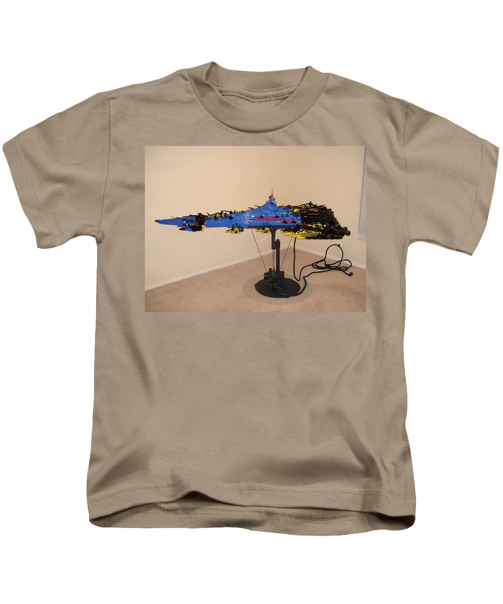 Legos Kids T-Shirt featuring the photograph Dynonochus 3 by Zac AlleyWalker Lowing