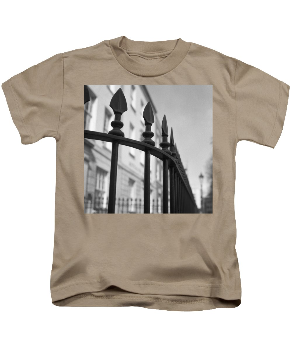 Architecture Kids T-Shirt featuring the photograph Enclosed by Christopher Rees