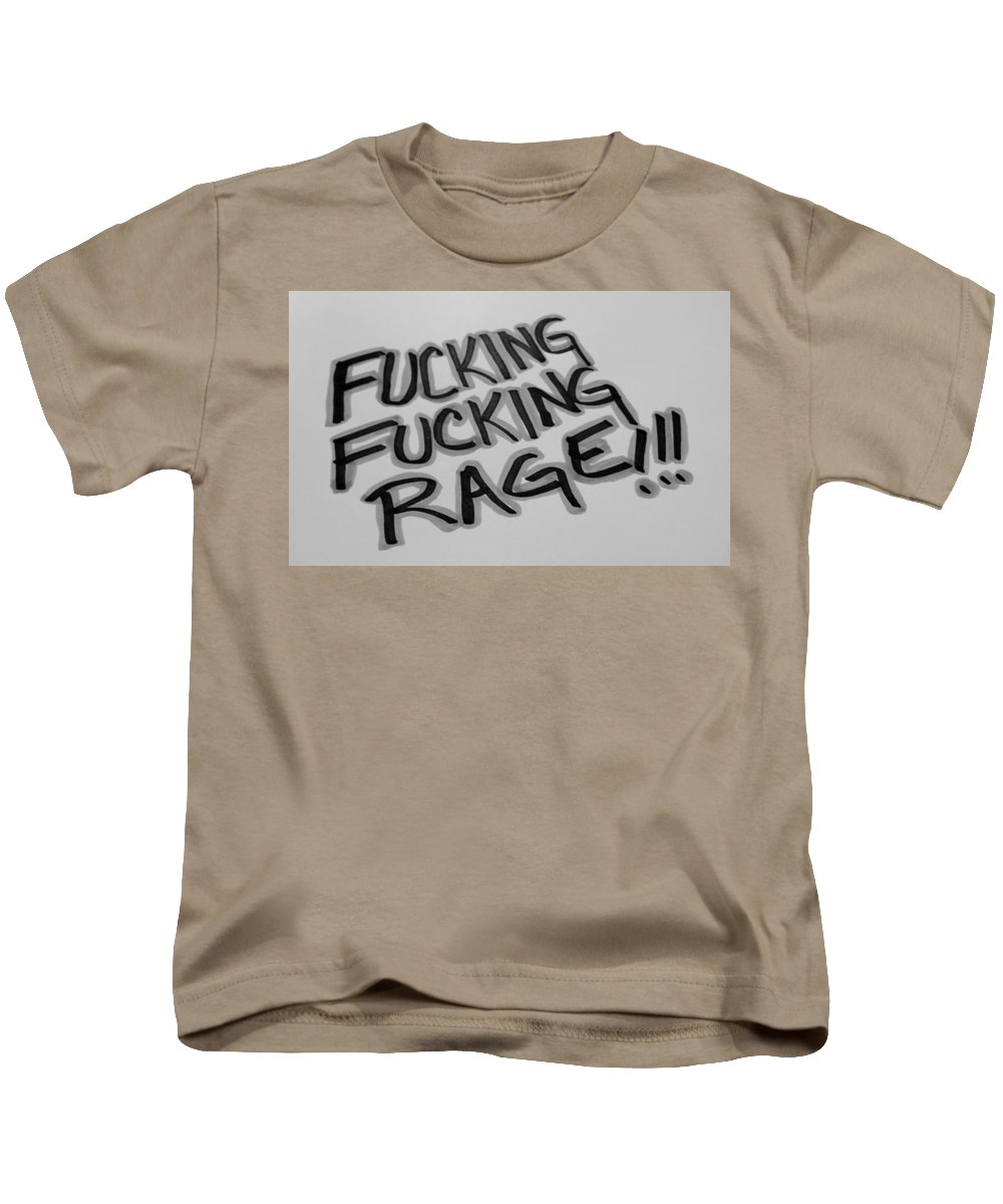 Fuck Kids T-Shirt featuring the photograph F F R B And G by Rob Hans