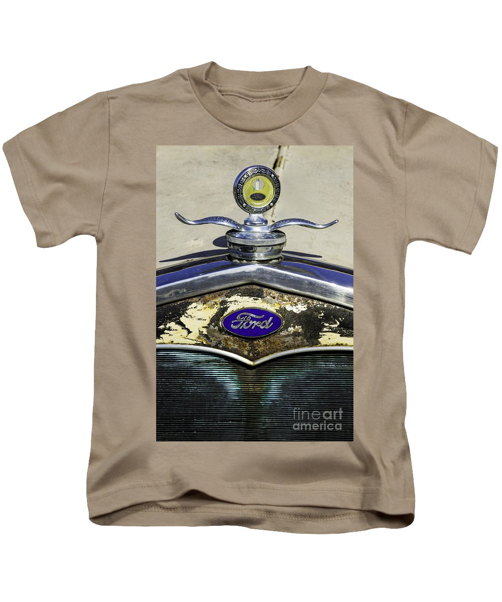 Antique Kids T-Shirt featuring the photograph Faded Ford by Joe Geraci