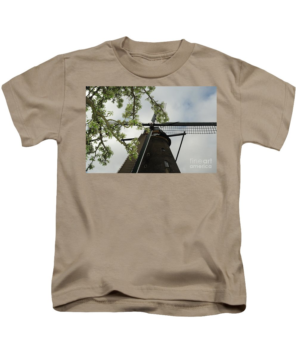 Photograph Kids T-Shirt featuring the photograph Flowers And Wind by Richard Gehlbach