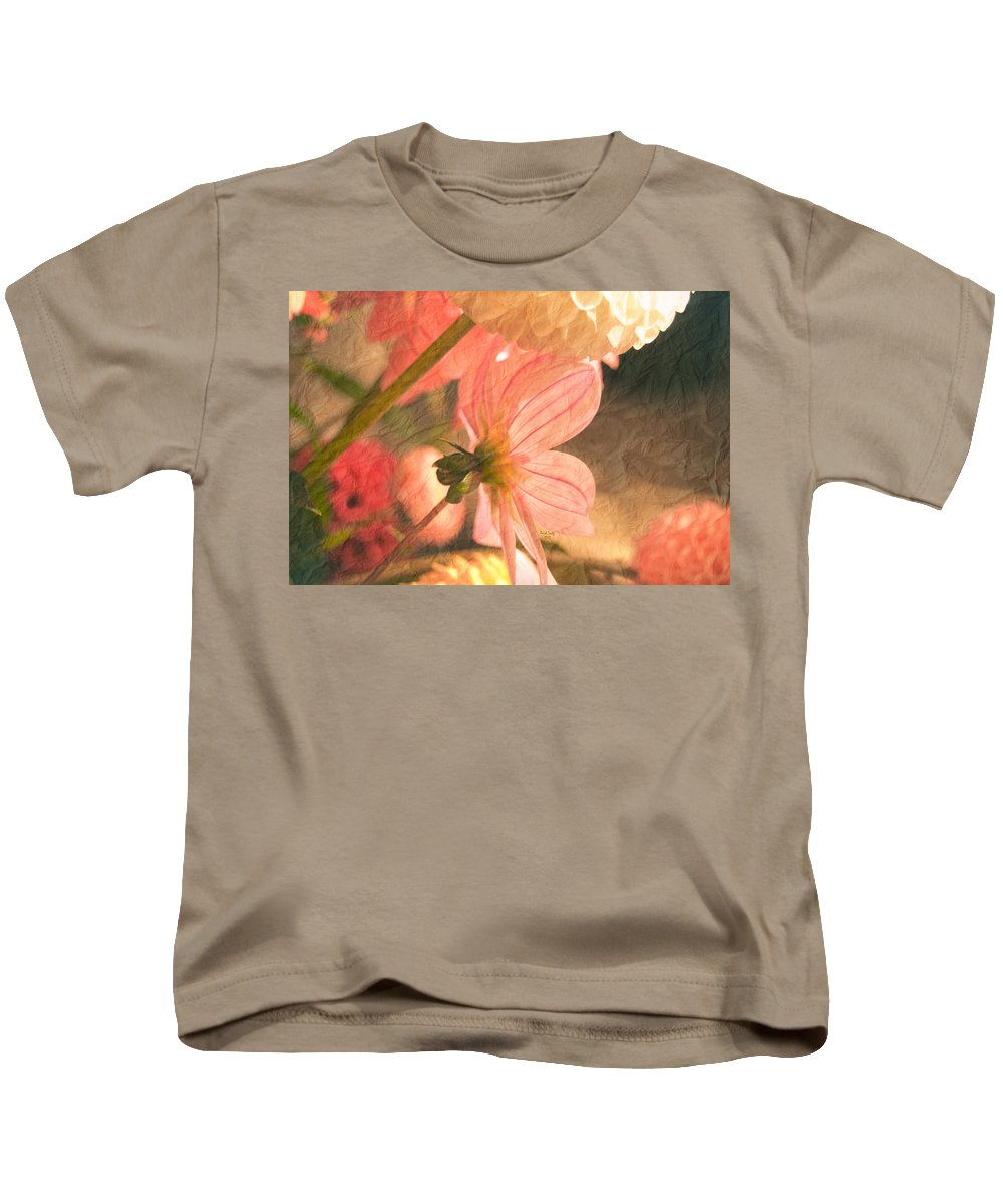 Flower Kids T-Shirt featuring the photograph Gentleness by Trish Tritz