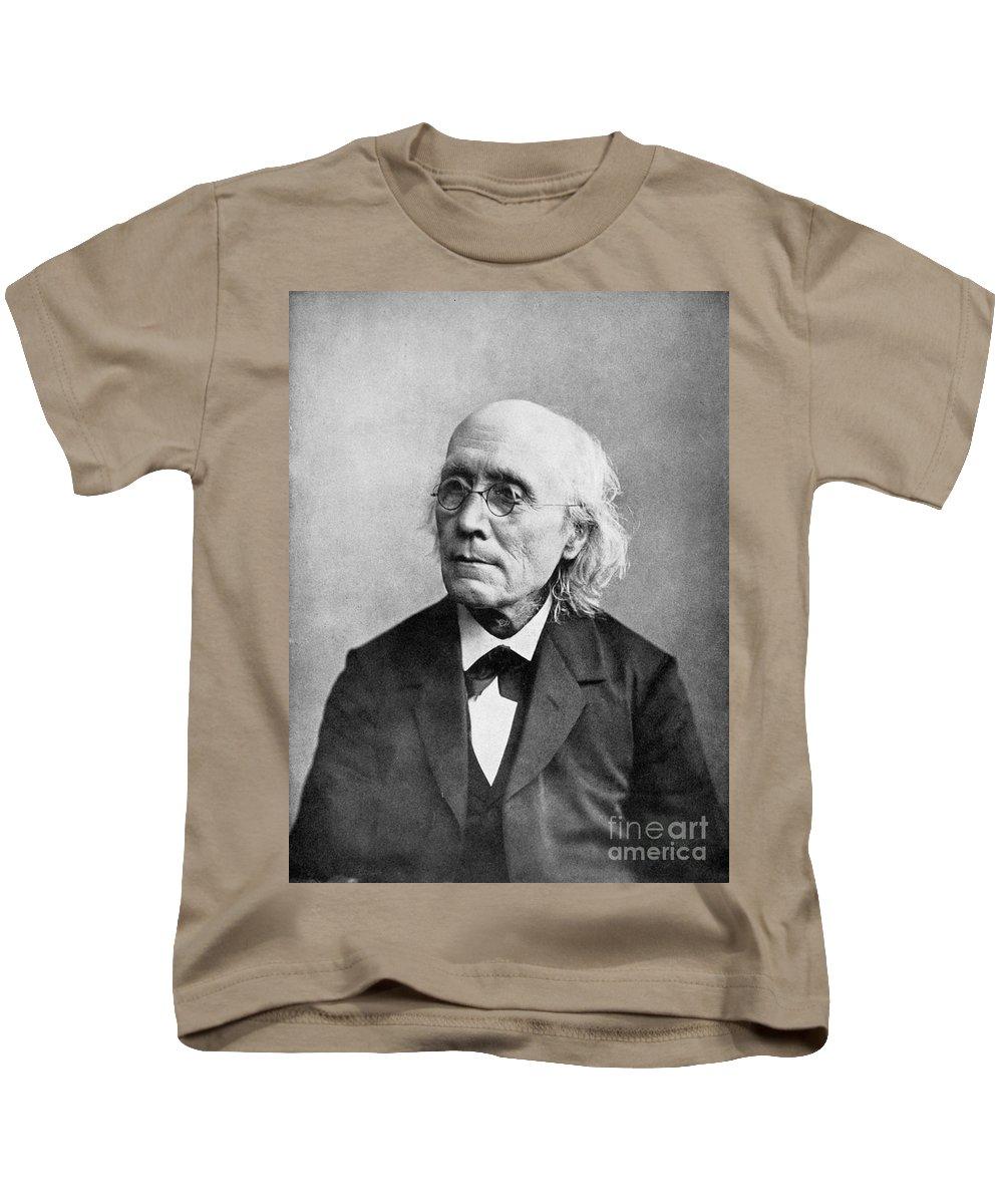 19th Century Kids T-Shirt featuring the photograph Gustav Theodor Fechner by Granger