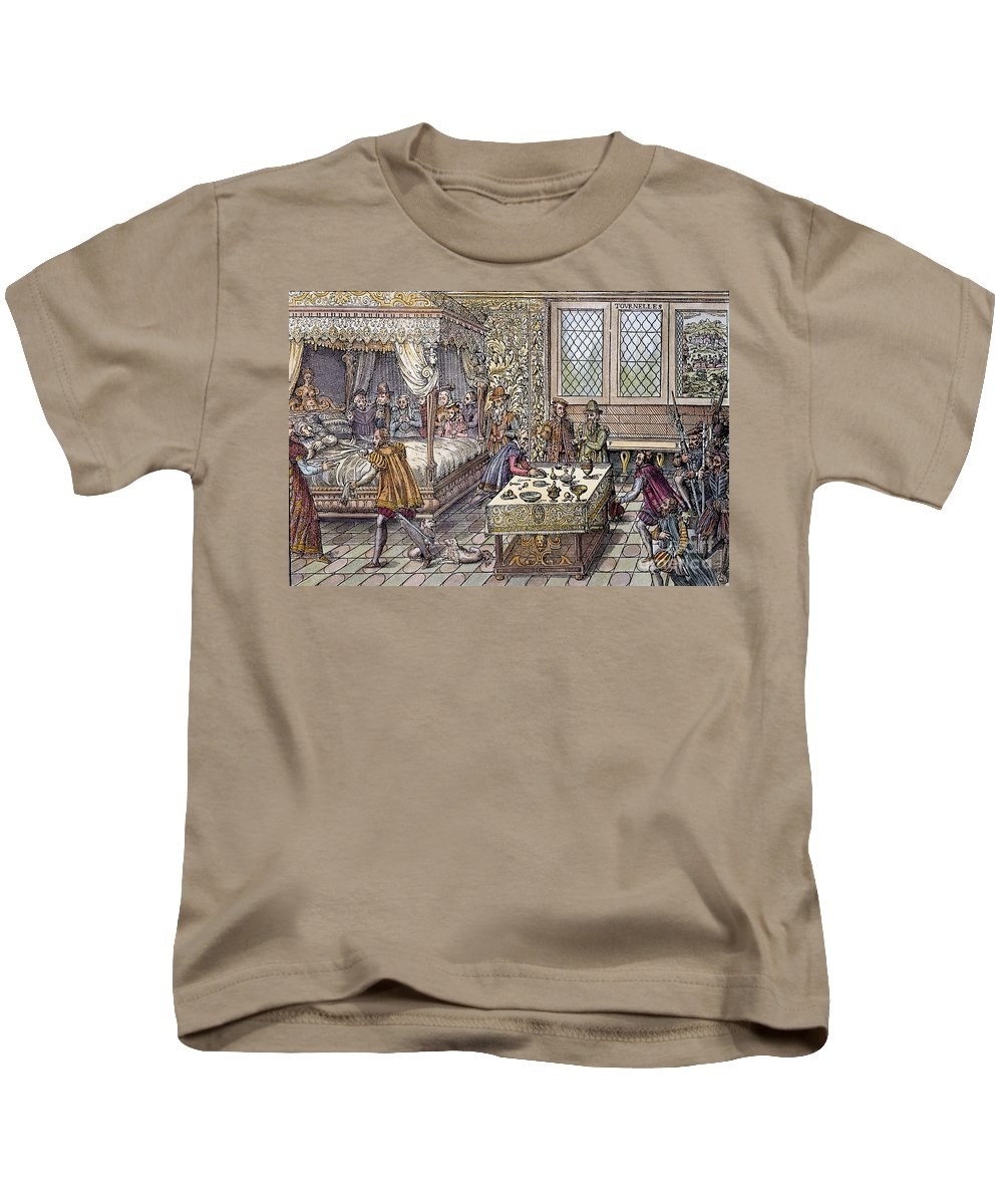 1559 Kids T-Shirt featuring the photograph Henry II Of France, 1559 by Granger