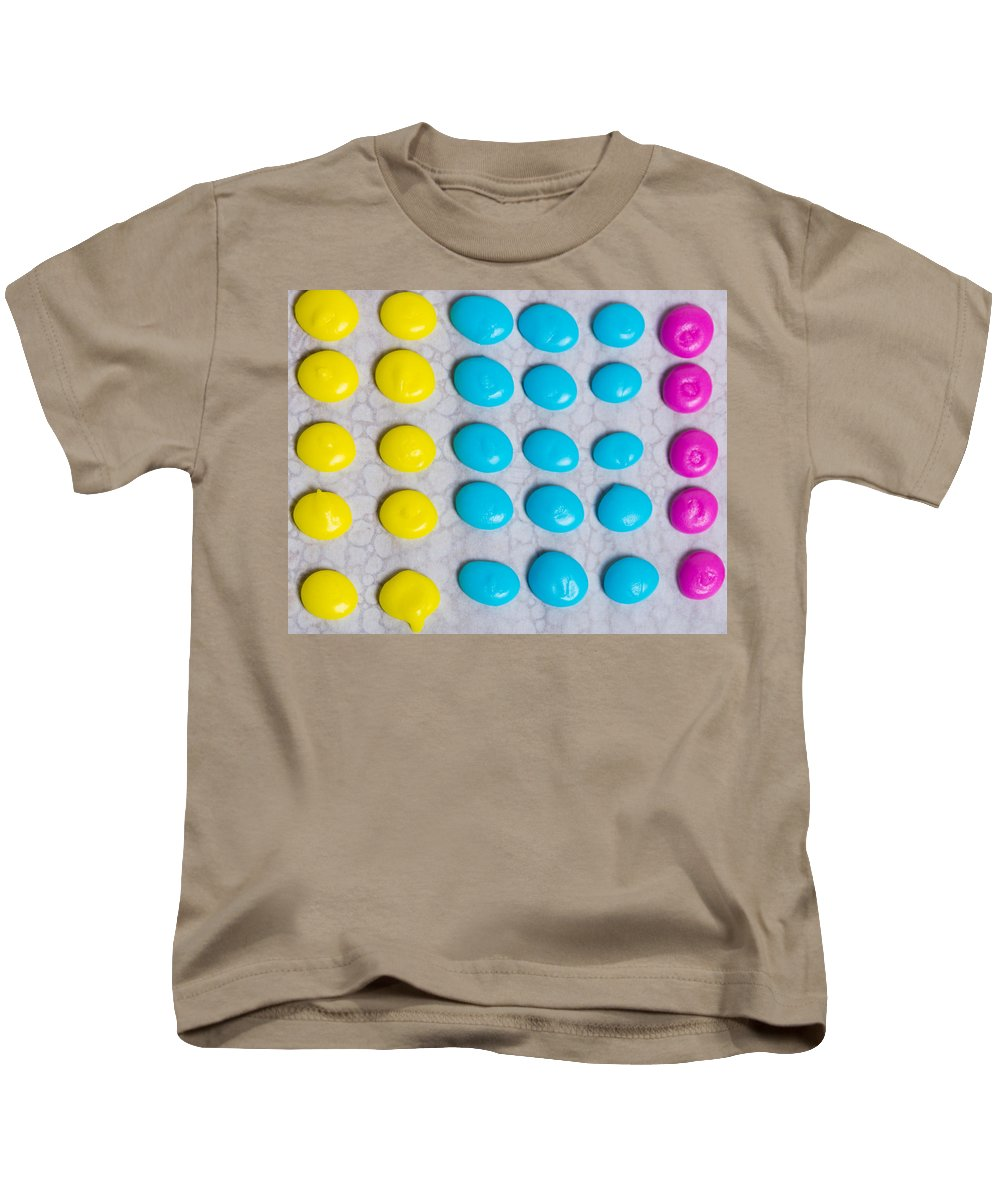 Food Kids T-Shirt featuring the photograph Homemade Candy Dots by John Trax