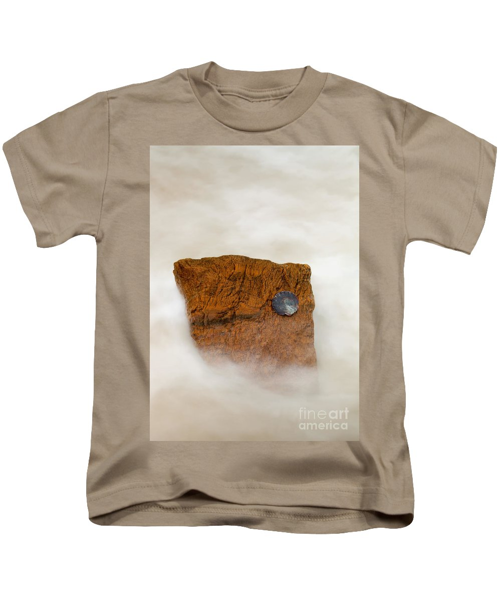 Rocks Kids T-Shirt featuring the photograph I Am A Rock by Mike Dawson