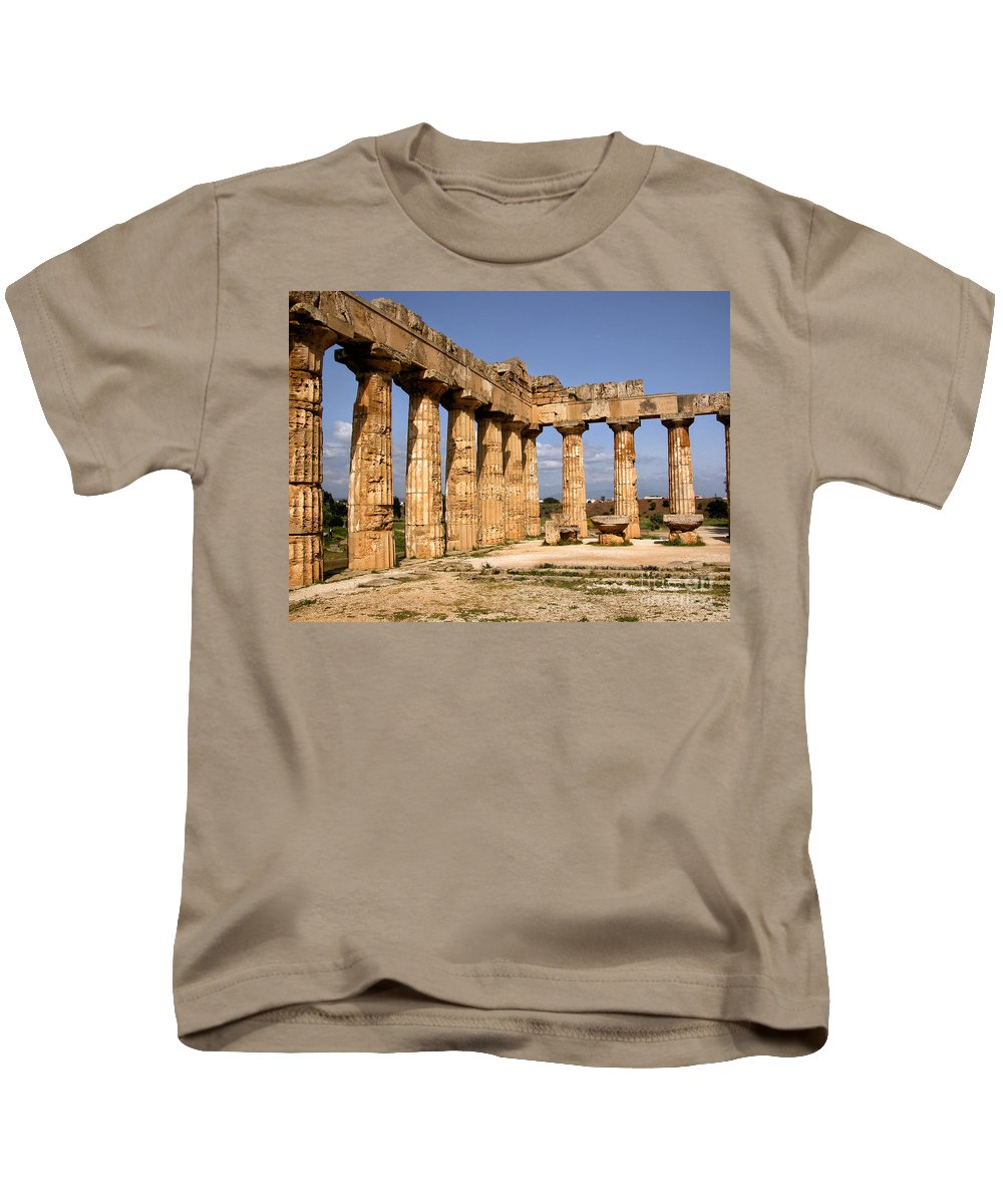 Italy Kids T-Shirt featuring the photograph Italian Ruins 2 by Timothy Hacker