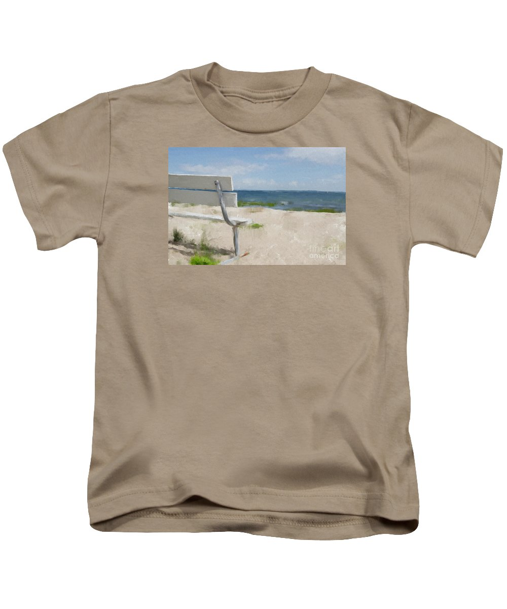 Beach Kids T-Shirt featuring the digital art It's All Yours by Lois Bryan