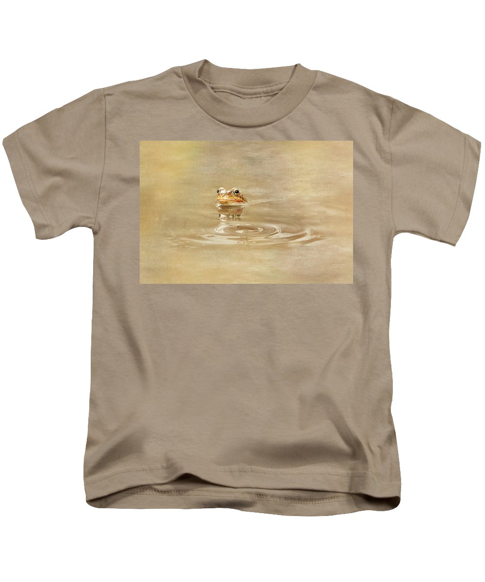 Toad Kids T-Shirt featuring the photograph Just She Was Still There by Heike Hultsch