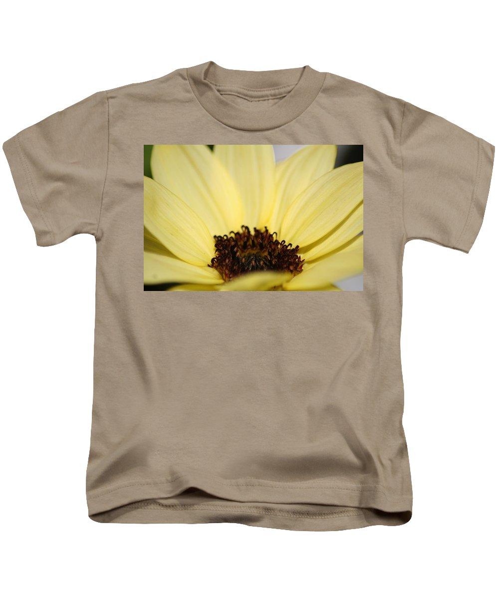 Sunflower Kids T-Shirt featuring the photograph Like Butter by Sheryl Chapman Photography