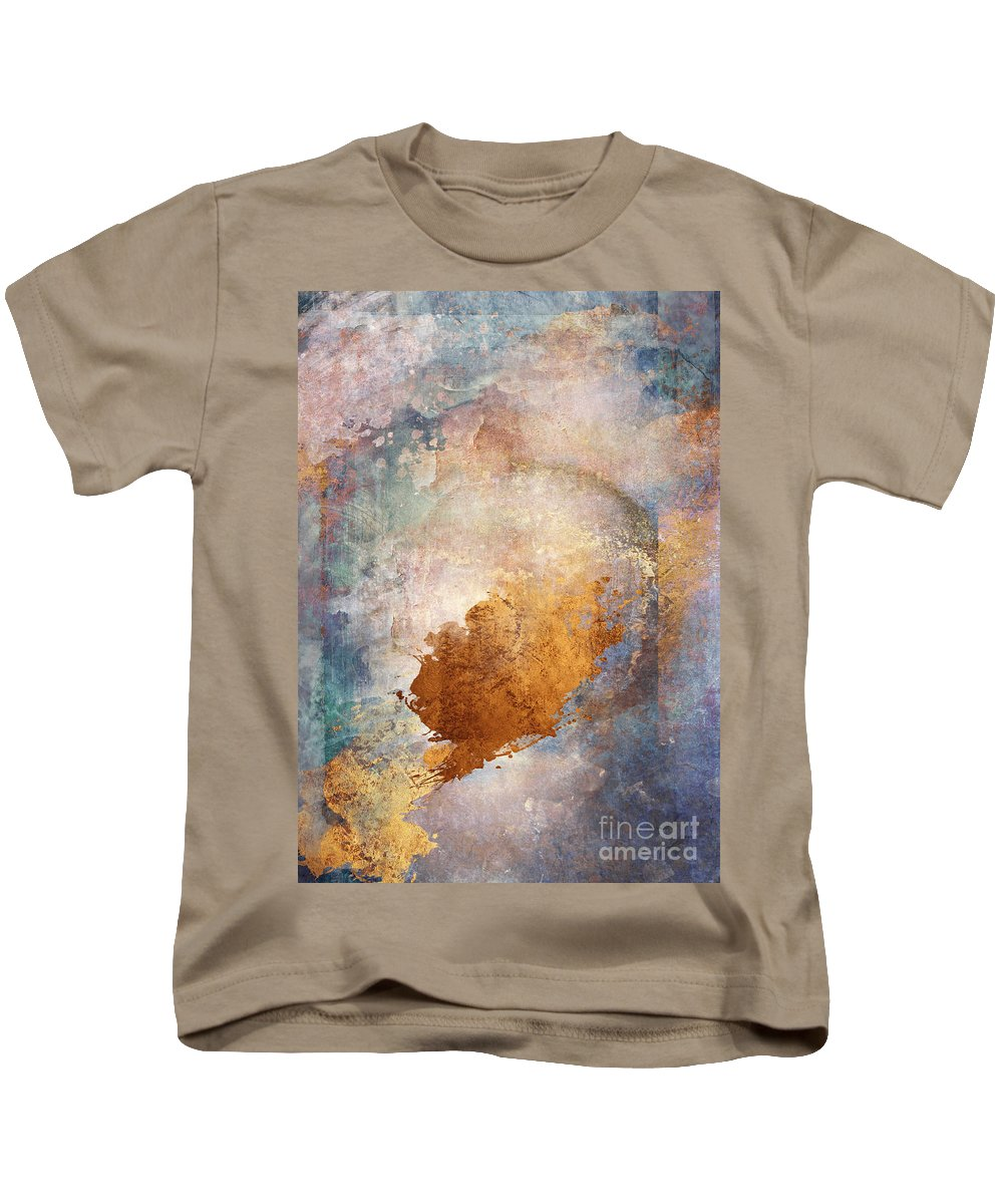 Abstract Kids T-Shirt featuring the digital art Lost In Translation by Aimee Stewart