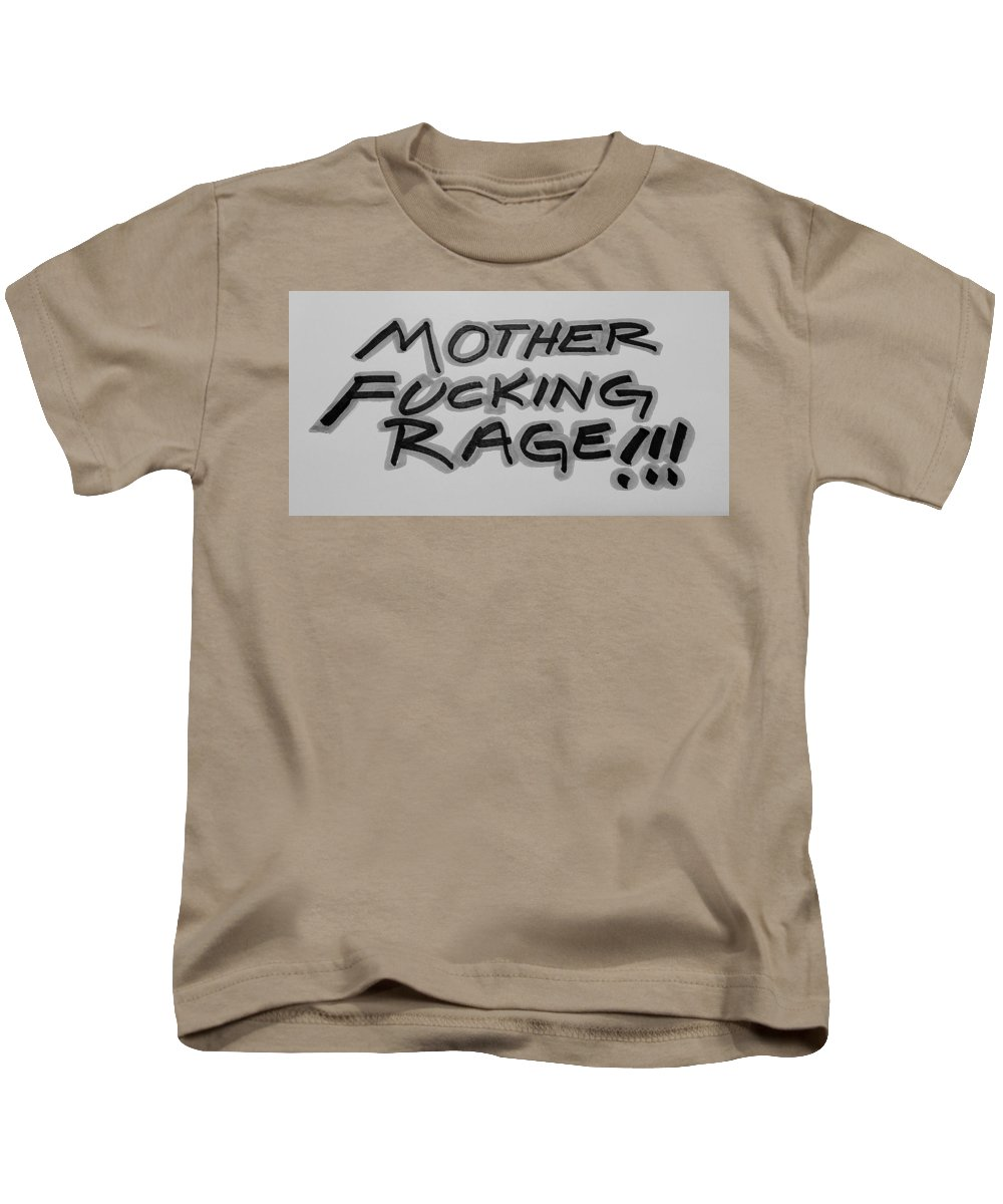Fuck Kids T-Shirt featuring the photograph M F R B And G by Rob Hans