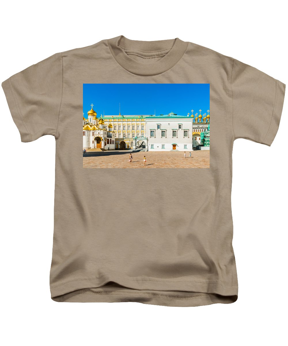 Moscow Kids T-Shirt featuring the photograph Moscow Kremlin Tour - 28 Of 70 by Alexander Senin
