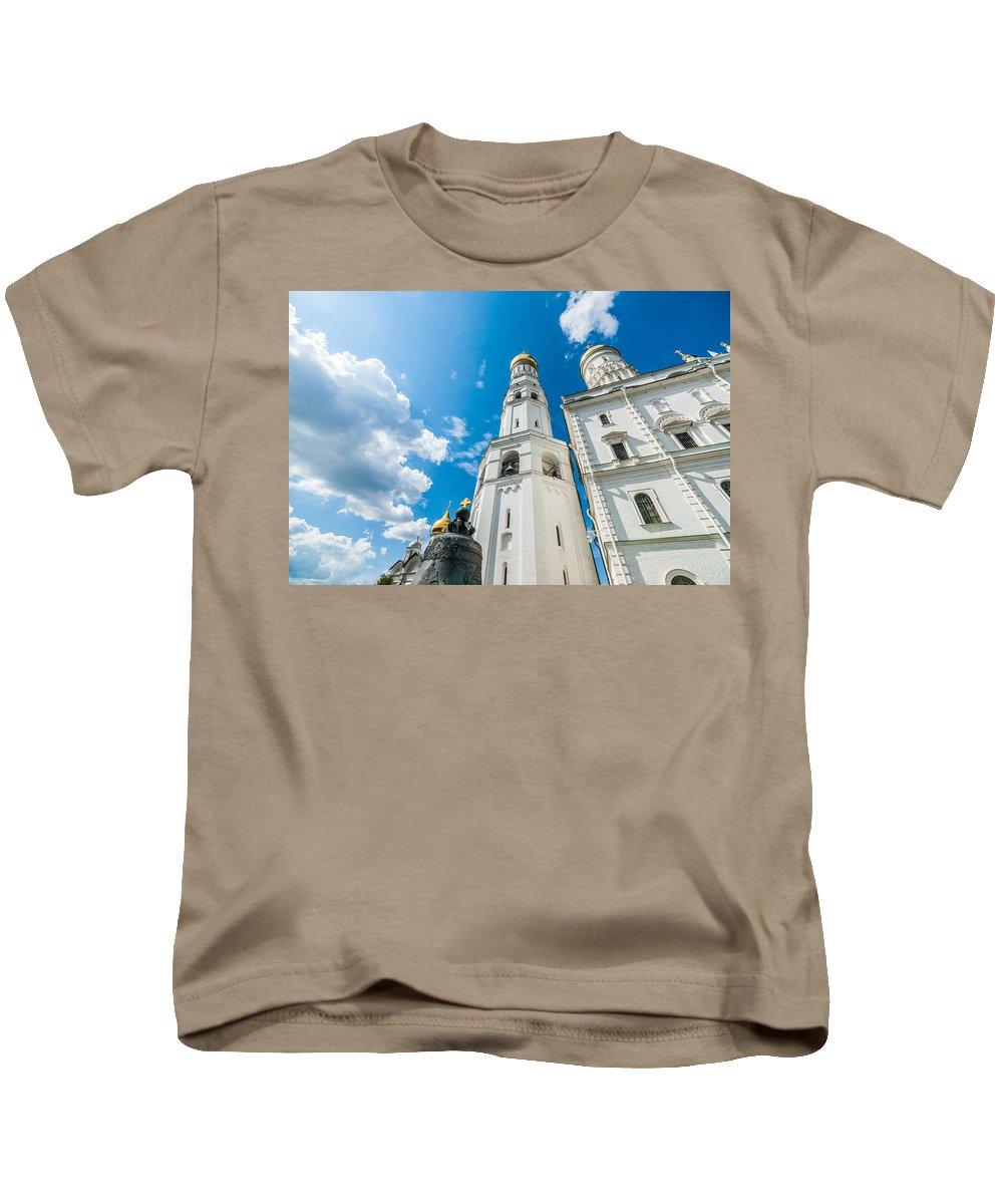 Moscow Kids T-Shirt featuring the photograph Moscow Kremlin Tour - 66 Of 70 by Alexander Senin