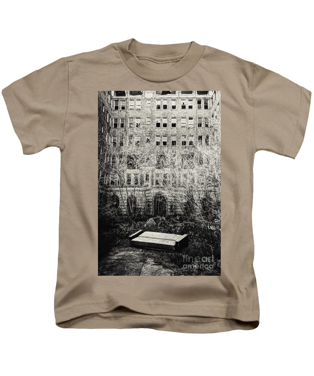 Apartments Kids T-Shirt featuring the photograph Moving Day by Margie Hurwich