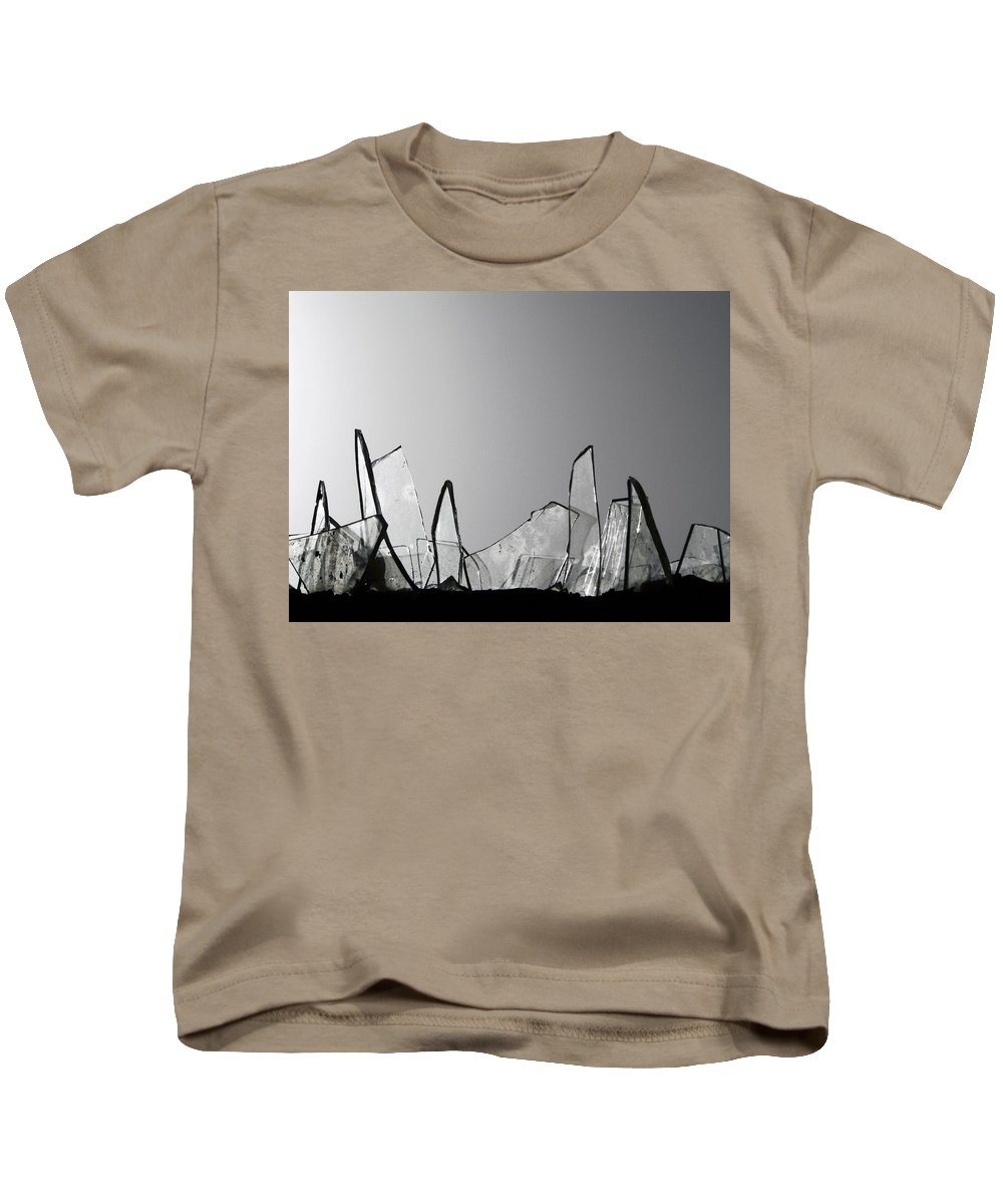 Gray Kids T-Shirt featuring the photograph Obstacles by Prakash Ghai
